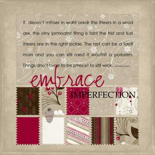 EMBRACE IMPERFECTION 72RES